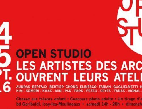 ARCA  I   Ateliers Portes Ouvertes24 & 25 sept. 2016