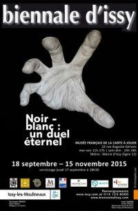 Biennale d'Issy, Exposition Noir-Blanc 2015