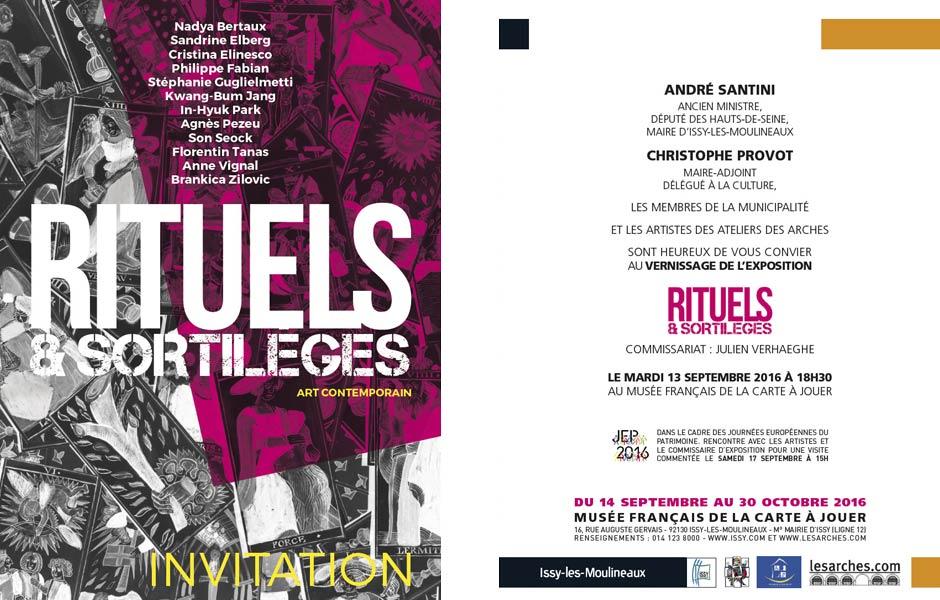 Exposition Rituels & Sortilèges - 2016